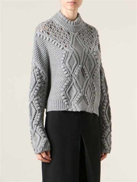 knitting moda 3 1 phillip lim cable knit jumper stefania mode