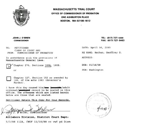How To Seal Your Criminal Record In Massachusetts Massachusetts Criminal Records Seal And Expunge Massachusetts Criminal Attorneys Can