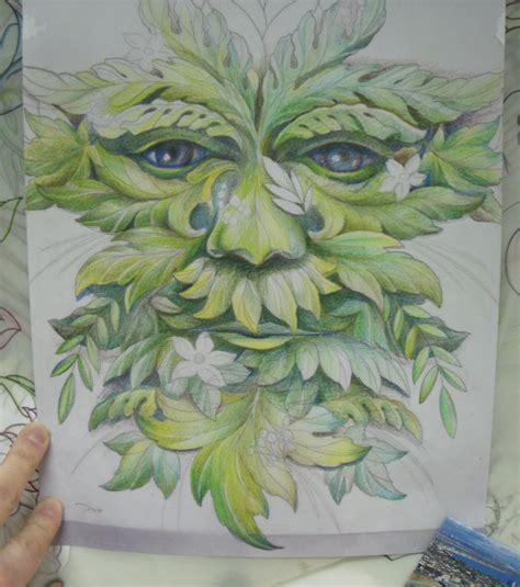 green man tattoo designs green colour sle for green