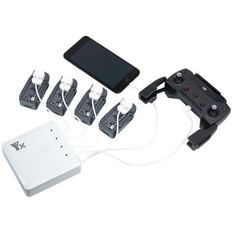 New Dji Spark Battery Charging Hub Original Dji Garansi Resmi Murah 6 in 1 multi battery dual usb remote controller phone charger hub parallel for dji spark drone