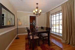 dining rooms with chair rail paint ideas rumah minimalis