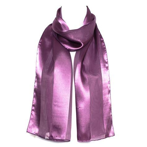 2 Tone Shawl Orange Kombinasi 2 tone stripes chiffon neck shawl stole wrap scarf scarves new ebay