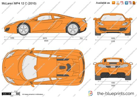 mclaren drawing how to draw mclaren mp4 12c