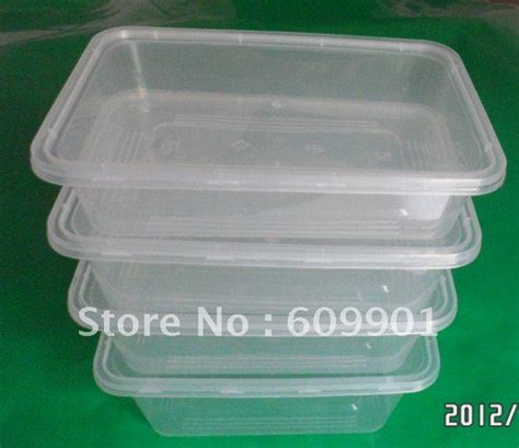Container Microwave 1 500ml 500ml 1200ml microwave disposable plastic food container box with lid on aliexpress