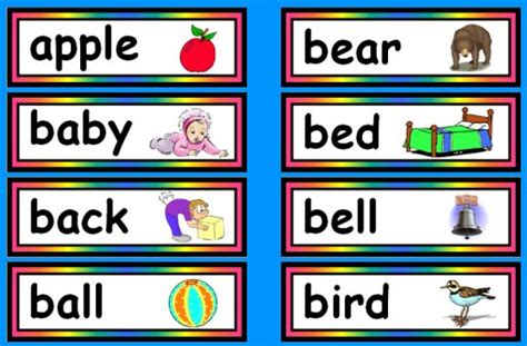 Nouns With Pictures Flashcards images