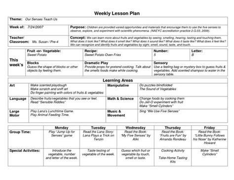 world language lesson plan template naeyc lesson plan template for preschool sle weekly