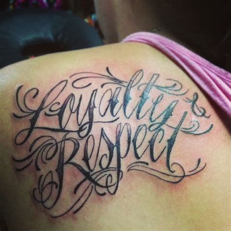 love and loyalty tattoo designs respect tattoos designs ideas and meaning tattoos for you
