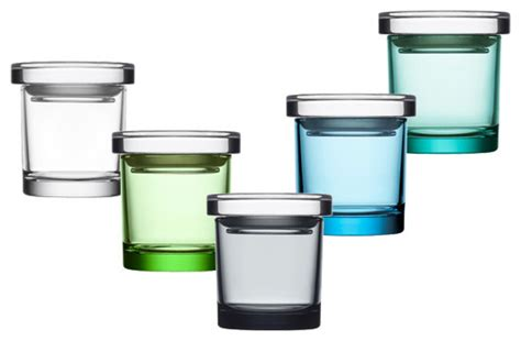 Modern Kitchen Containers by Iittala Glass Jars 3 Quot Modern Kitchen Canisters And Jars By Switch Modern