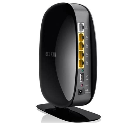 Modem Wifi Belkin belkin play wireless modem router deals pc world