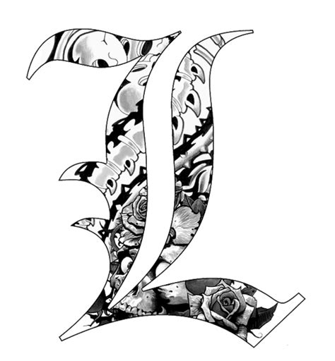 letter l tattoo designs 5 best images of cool l designs cool designs with the