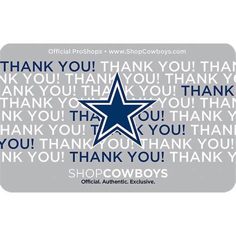 Cowboys Gift Card - mens cowboys catalog dallas cowboys pro shop