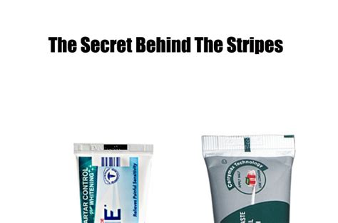 what does the color on the toothpaste beware of toothpaste with black stripe on bottom