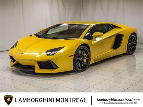 Lamborghini d'occasion à vendre   Lamborghini Montréal