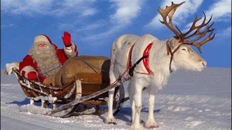 imagenes de santa claus con los renos pap 225 noel los mejores viajes en reno de santa claus
