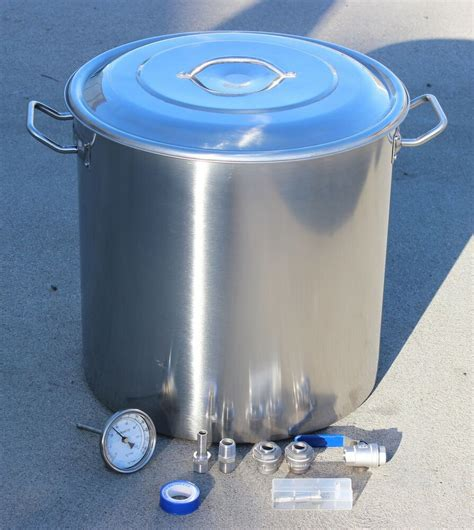Brewers Best Brew Kettle - concord home brew kettle diy kit stainless steel