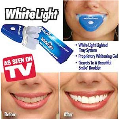 White Light Teeth Whitening white light tooth whitener set