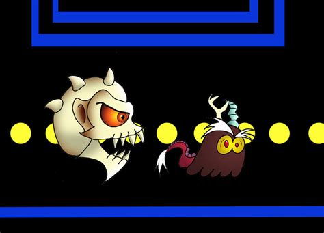 Kaos Pacman Pacman 06 pac roaster and the discord ghost by fireminion on deviantart