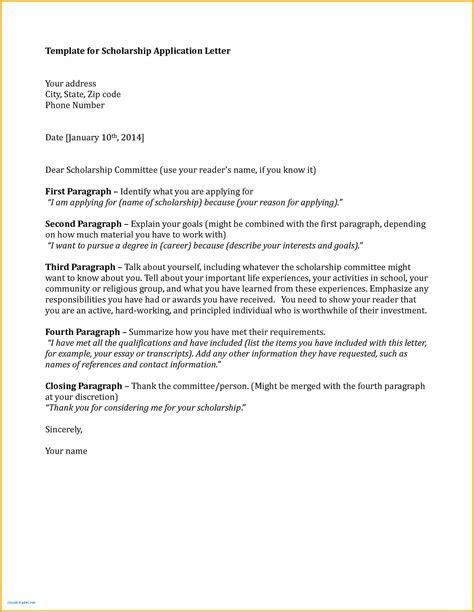 formal letter  bursary application leterformat