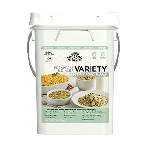 Scanwizzy X Freeze Supply Co augason farms breakfast dinner variety emergency food