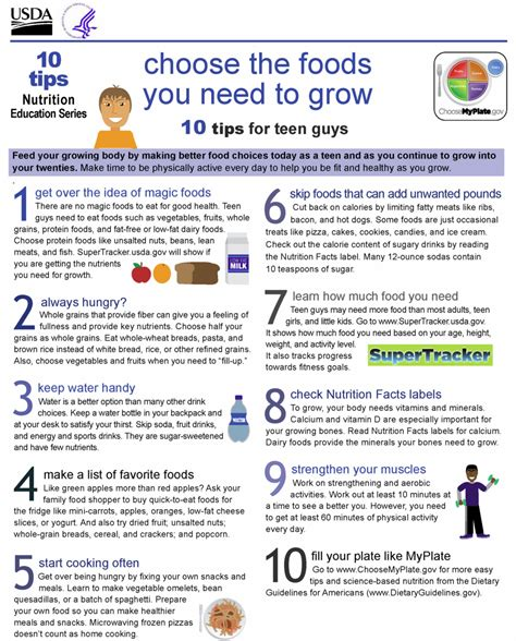 education tips 10 tips nutrition education series version