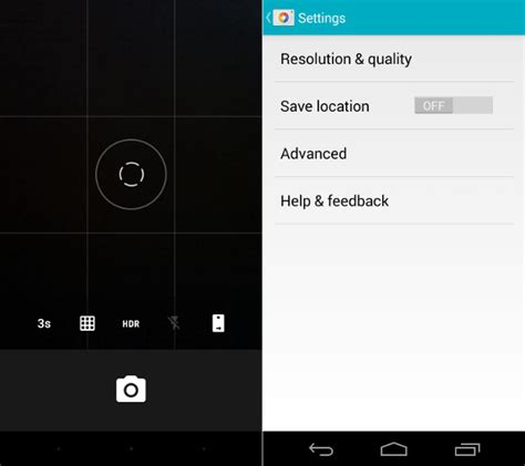 Google Updated With Material Design For Android Lollipop   google camera updated with material design android 5 0