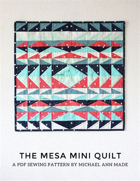 County Lines Quilt Pattern by 220 Ber 1 000 Ideen Zu Mini Quilt Patterns Auf
