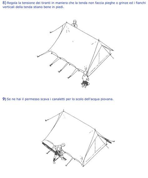 come montare una tenda come montare una tenda