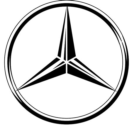 mercedes logo vector mercedes logos png images free download