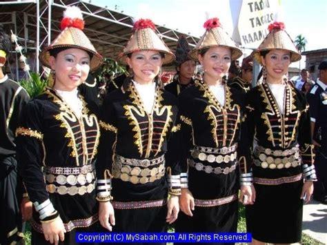 Baju Etnik Kedayan adat dan budaya etnik di malaysia kaum kadazan 205296