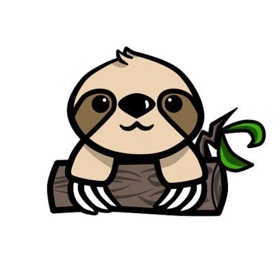 sloth clipart 17 best images about sloths on cyber monday