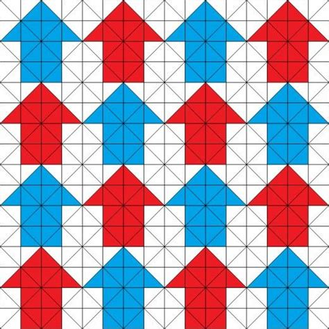 pattern of c a tessellating arrows quilting pattern triangulos