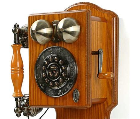 Antique Telephone Vintage Fashion Telephone antique wall phone vintage retro telephone rotary fashioned wooden new ebay