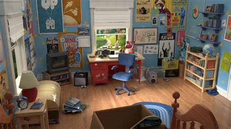 Room Story by Andy S Room Story Animation Project The Rookies