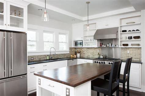 prairie modern kitchen design modern bungalow kitchens aa avery mark s modern white kitchen george ramos