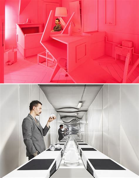 Surreal Interiors by Disorienting Design 14 Trippy Surreal Interior Spaces