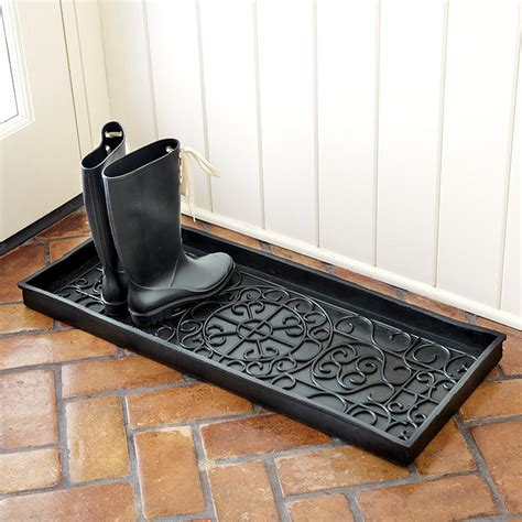 Boot Mat Tray by Rubber Boot Tray Oversized Ballard Designs
