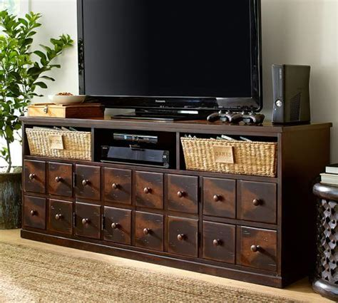 bedroom media console andover media console from pottery barn master bedroom