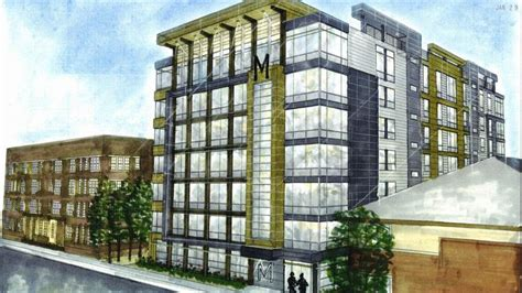 new appartment new apartment building proposed for cus marquette wire