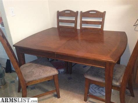 kitchen table and chairs for sale armslist for sale trade kitchen table with chairs and