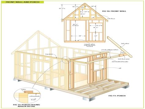 cabin plans wood cabin plans free cabin floor plans free bunkie plans