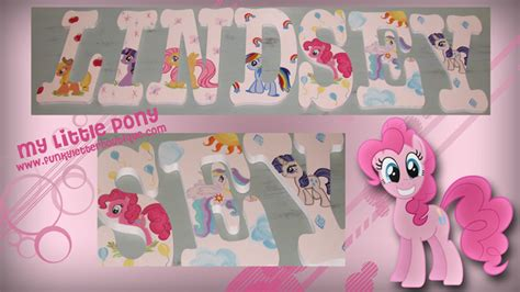 my little pony bedroom wallpaper girls hand painted wooden letters girls nursery letters page 4