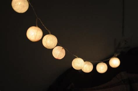 Etsy Find Outdoor String Lights Gardenista Lights On String