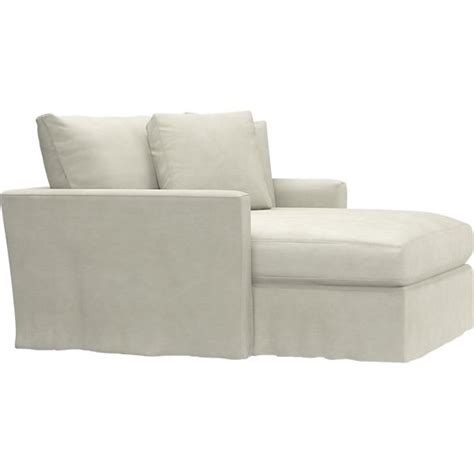 crate and barrel chaise slipcover slipcover only for lounge chaise