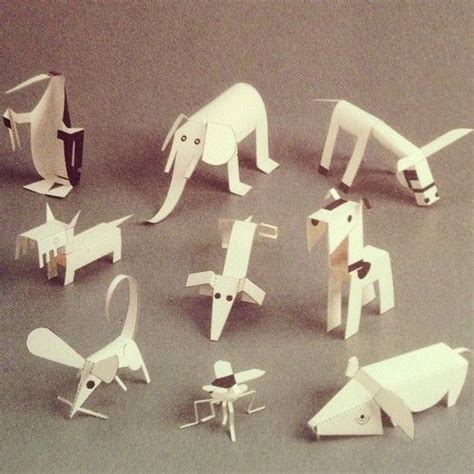 How To Make Animals Out Of Paper - 1000 images about papercraft on zoos