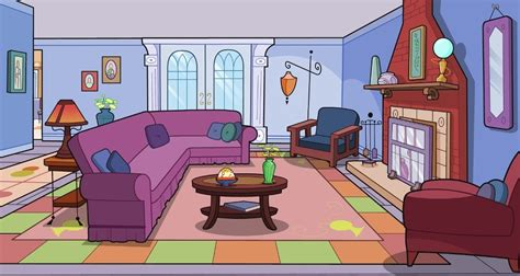 living room clip art interior clipart drawing room pencil and in color
