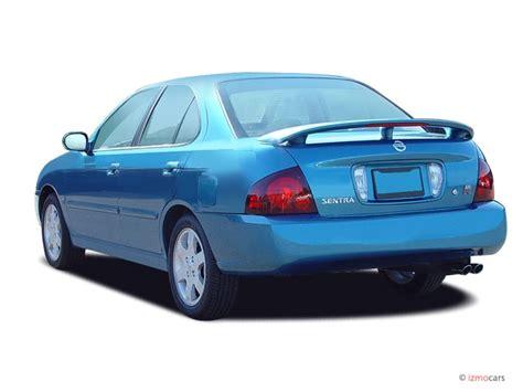 automotive service manuals 2004 nissan sentra parental controls image 2004 nissan sentra 4 door sedan se r spec v manual lev angular rear exterior view size