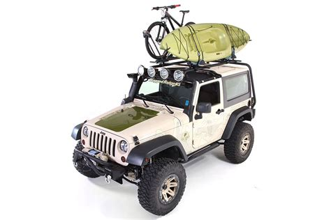 Jeep Canoe Roof Rack by Free Shipping On Rugged Ridge Sherpa Roof Rack Wrangler Jk