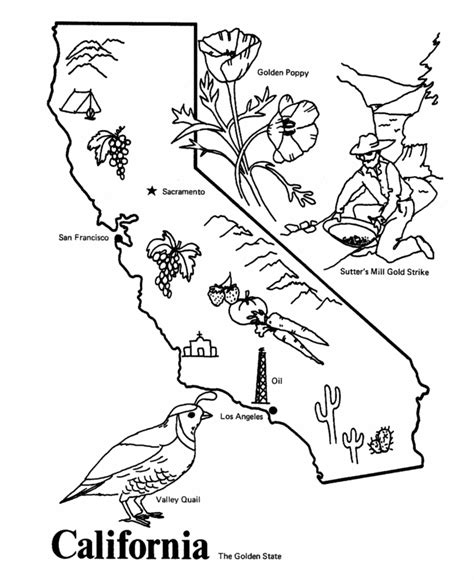 california map drawing california state seal coloring page az coloring pages