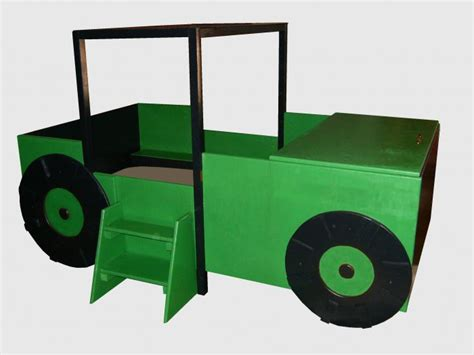 toddler tractor bed oak tractor toddler to twin convertible bed with large toy