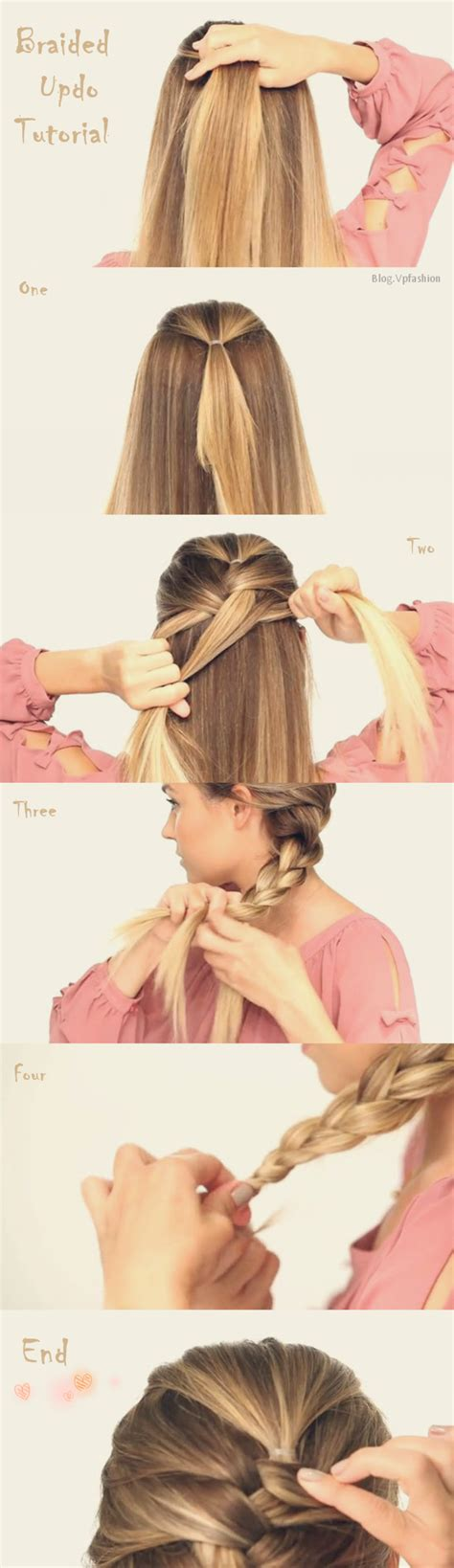 how to braid extensions into your own hair french braided updo archives vpfashion vpfashion